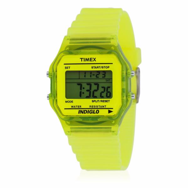 montre-timex-jaune