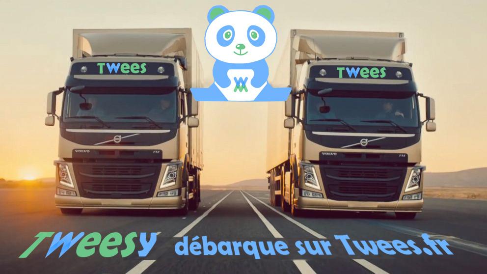 tweesy-arrive